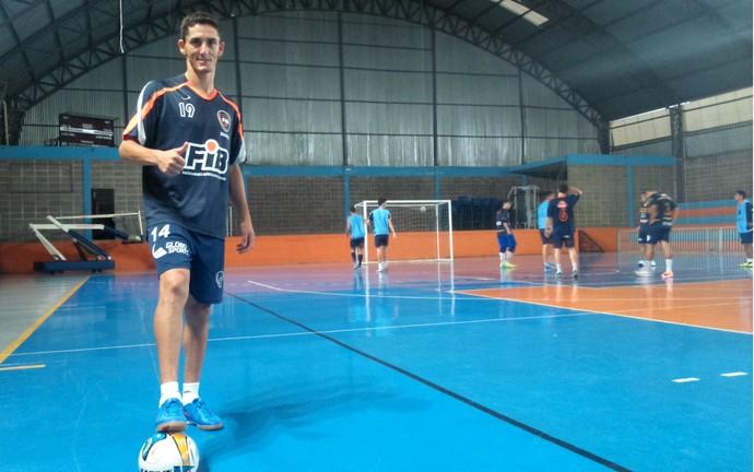 Fixo Júlio Chaló, do Bauru Futsal (Foto: Rafael Peloso / A.A. FIB)