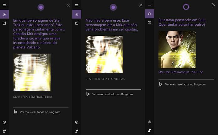 Jogo interativo do Star Trek (Foto: Reprodução/Tassia Moretz)