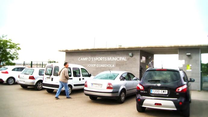 Estádio Josep Guardiola - Santpedor (Foto: Cassio Barco)