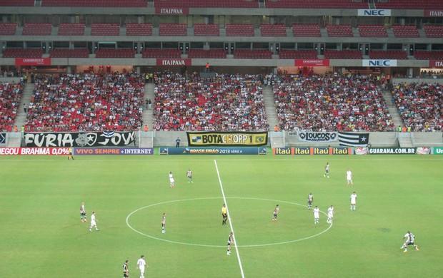 Torcida Botafogo x Fluminense Arena Pernambuco (Foto: Fred Huber)