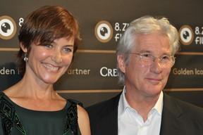 Richard Gere e Carol Lowell (Foto:  AgNews)