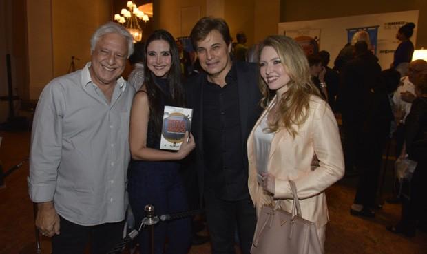 Antônio Fagundes, Alexandra Martins, Edson Celulari e Karin Roepke (Foto: Fabio Cordeiro/QUEM)