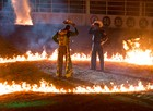 Fotos: Confira a 3ª noite de rodeio na Festa do Peão de Barretos (Érico Andrade/G1)