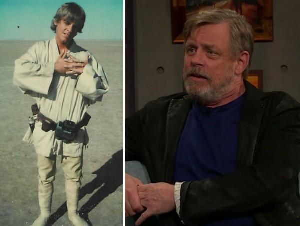O ator Mark Hamill, intérprete do herói Luke Skywalker em Star Wars (Foto: Instagram/Reprodução)