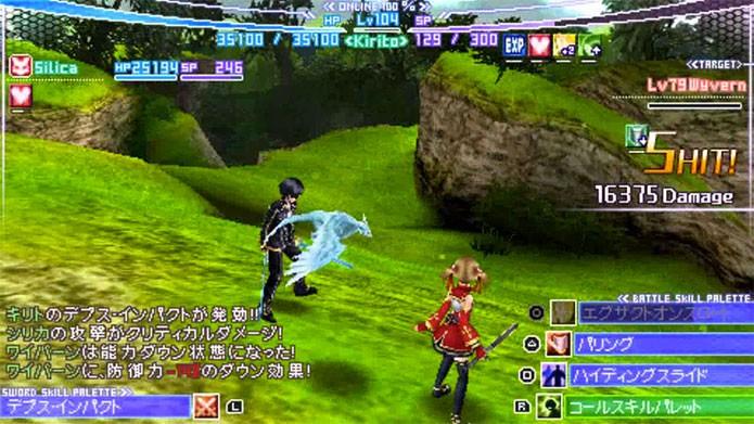 Sword Art Online Infinity Moment: o primeiro da série (Foto: Divulgação/Bandai Namco)