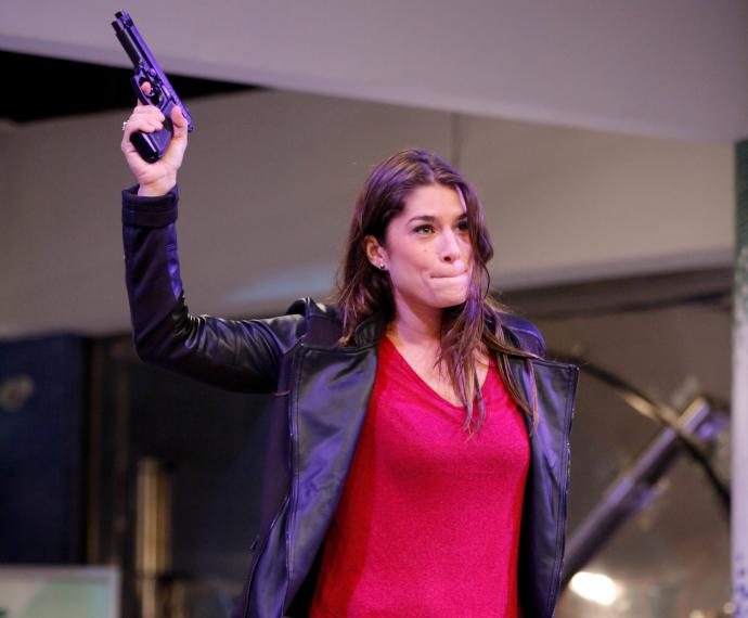 Priscila Fantin em ensaio de Tomara que Caia (Foto: Artur Meninea/Gshow)