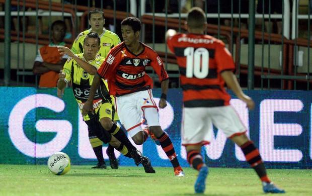 Gabriel, Volta Redonda x Flamengo (Foto: Ernesto Carriço/Agência Estado)