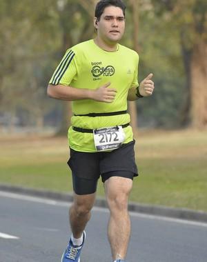 Guilherme elimina 61kg correndo e participa da prova do Eu Atleta