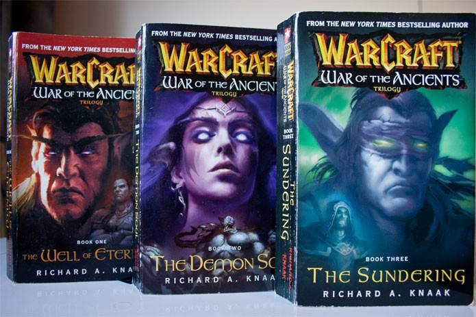 Livros que compõem a trilogia War of the Ancients (Foto: Reprodução/Paragon)