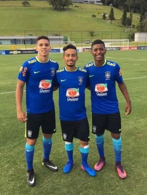 Paulinho Vasco Alan Wesley (Foto: Reprodução / Instagram)