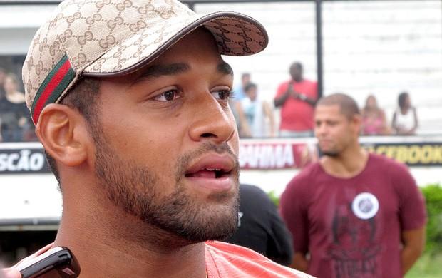 Fellipe Bastos no futshow da paz em São Januário  (Foto: Edgar Maciel de Sá / Globoesporte.com)