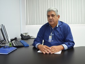 Superintendente da Infraero em Santarém, Altemar Gama  (Foto: Adonias Silva/G1)