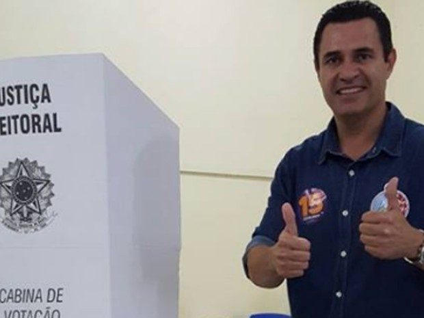 Nisan foi detido em Itaguaí por crime eleitoral no dia das eleições (Foto: Reprodução/Facebook)