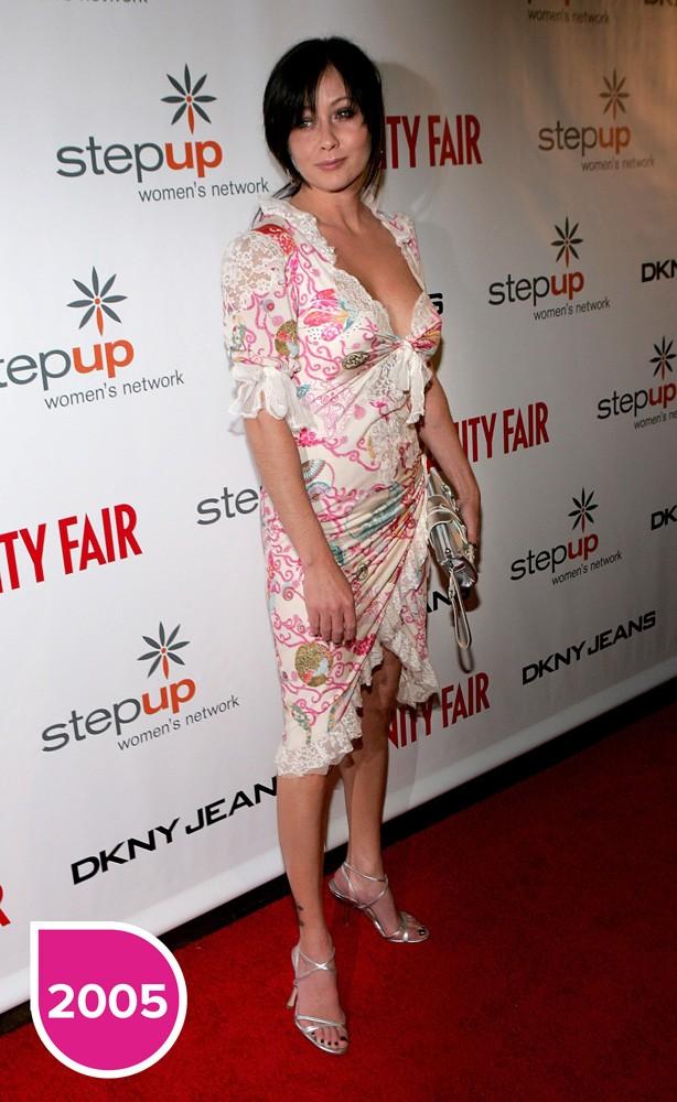 Shannen Doherty, a Brenda de Barrados no Baile, completa 45 anos (Foto: Getty Images)