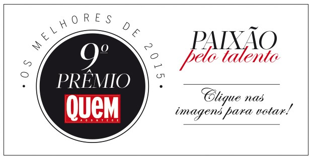 Prêmio QUEM (Foto: Arte: Eduardo Garcia)