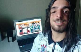 """Fã de rock """"pesado"""", cartoleiro aposta na defesa do Flamengo e se dá bem"""
