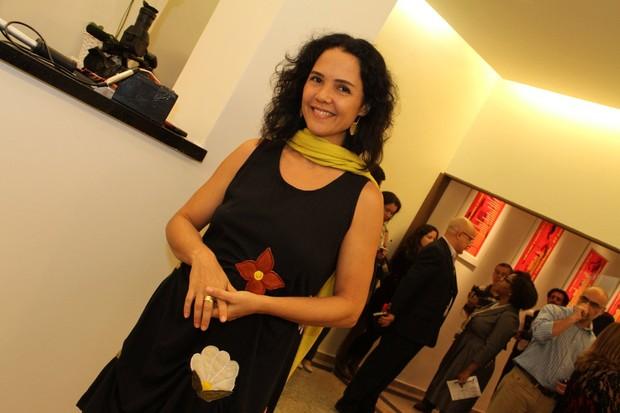 Teresa Seiblitz  na reinauguração do Teatro Ipanema, no Rio (Foto: Thyago Andrade / Foto Rio News)