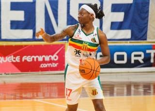 Wheeler joga basquete pelo Sampaio Corrêa na LBF (Foto: Roberta Rodrigues / Divulgação)