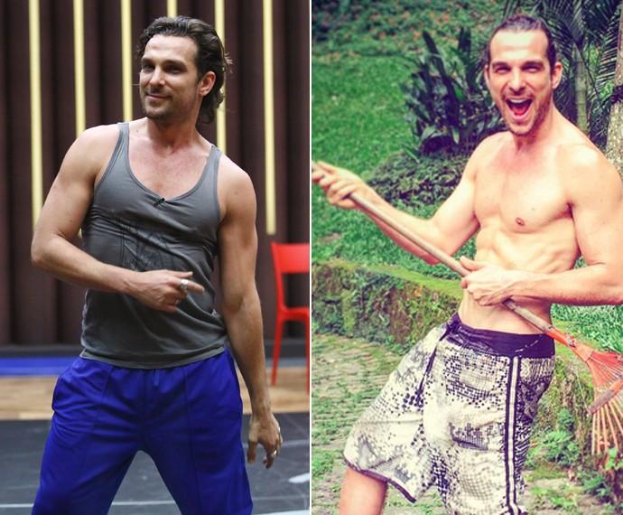 Igor Rickli perdeu 5 kg desde o início do quadro (Foto: Raphael Dias/Gshow/Arquivo pessoal)