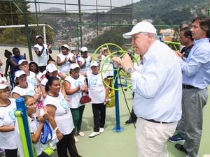 Petrópolis ganha mais duas academias ao ar livre (Foto: Divulgação/Ascom PMP)