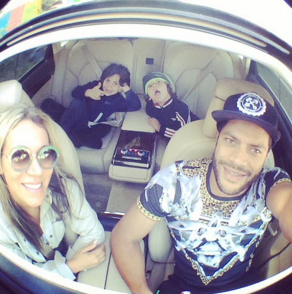 Hulk registra momento em família (Foto: Reprodução/ instagram)