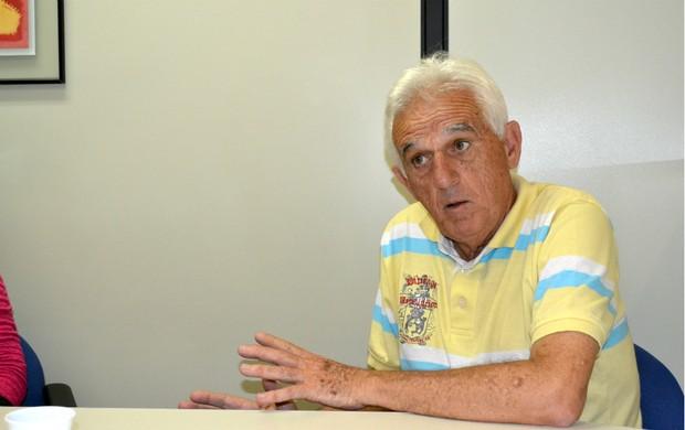 Presidente do São José-SP, Geléia (Foto: Filipe Rodrigues)