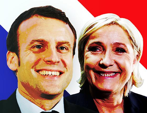 Entenda como o cenário econômico na França influenciou o primeiro turno das eleições e o apoio aos candidatos Emmanuel Macron e Marine Le Pen  (Foto: Getty Images)