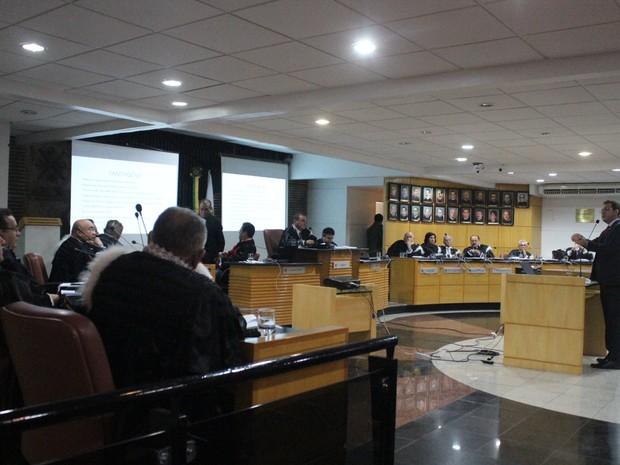 Juiz auxiliar Antônio Oliveira destacou vantagens na agregação de comarcas (Foto: Catarina Costa/G1 PI)
