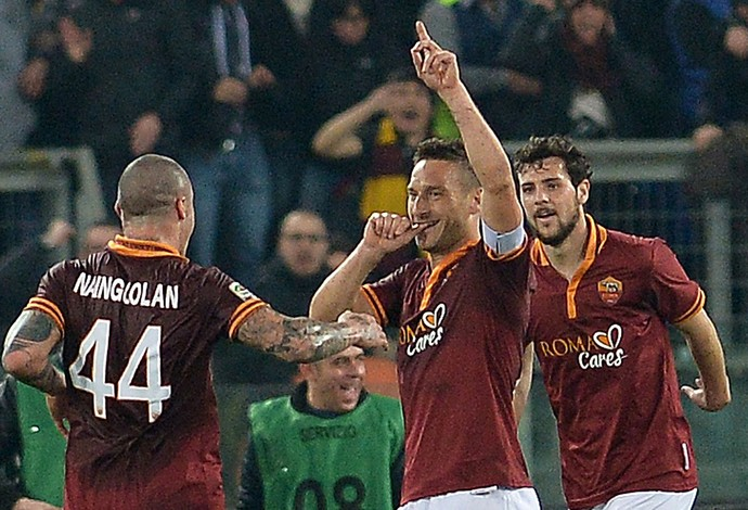 Roma x Udinese (Foto: AFP)