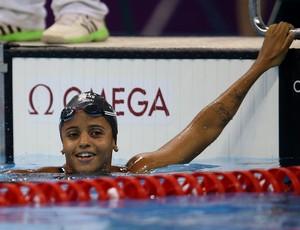 Etiene Medeiros no Trofeu Maria Lenk de natação no Rio de Janeiro (Foto: Satiro Sodré/ SSPress/CBDA)