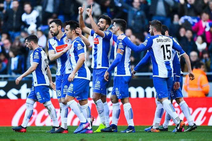 Navarro Espanyol x Sevilla (Foto: AFP)