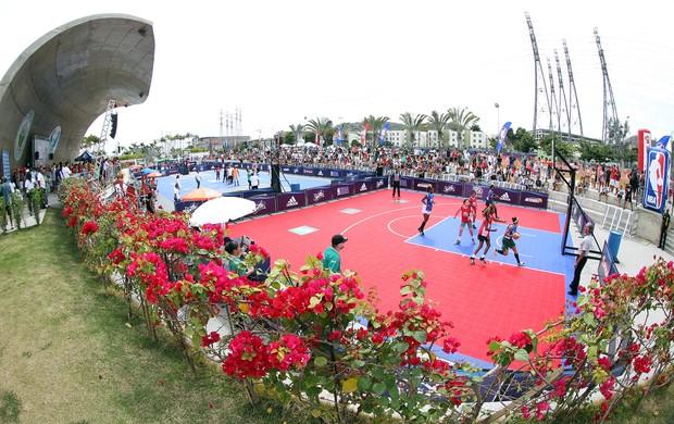 Parque Madureira recebe o NBA 3X (Foto: Gaspar Nobrega / Inovafoto / Divulgação)