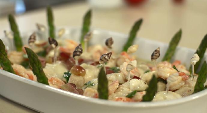 Que delícia! Esta iguaria é uma receita da chef Eva dos Santos para este Natal (Foto: Reprodução/RPC)