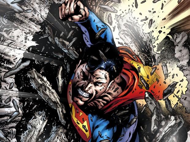 Eddy Barrows faz ilustrações do Superman (Foto: Eddy Barrows/DC Comics)