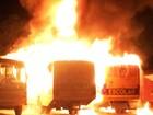 Com ônibus escolares incendiados e motim, RN registra 6ª noite de ataques