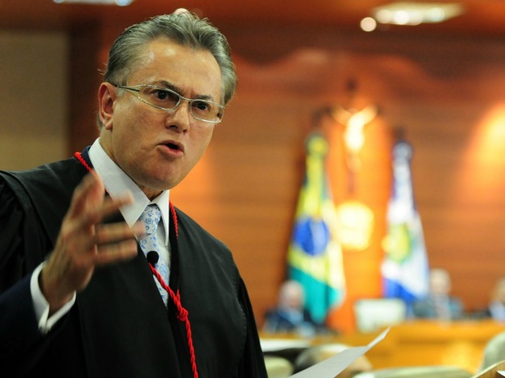O desembargador Orlando Perri, presidente do Tribunal de Justiça de Mato Grosso. (Foto: Josi Pettengill / Secom-MT)