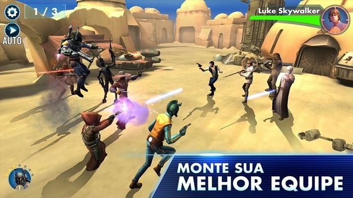 Novo jogo de Star Wars para Android (Foto: Divulgação / EA Mobile)