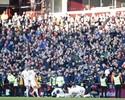 Brasileiros têm dia de garçons, e Liverpool atropela o Aston Villa
