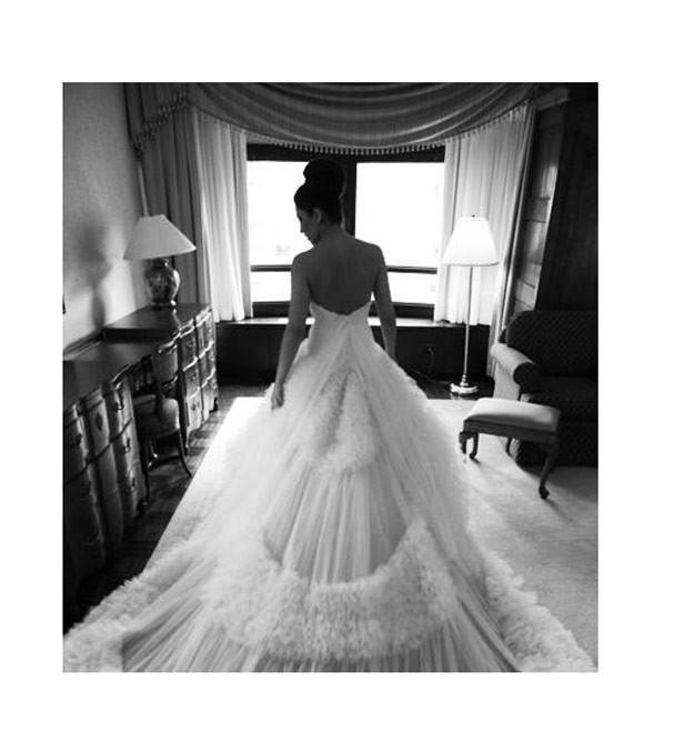 Simin Couture também veste noivas (Foto: Reprodução Simincouture.com)