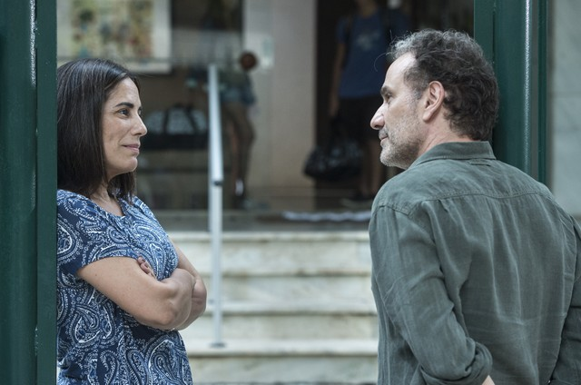 Gloria Pires e Marco Ricca em 'Segredos de Justiça' (Foto: Globo/ Estevam Avellar   )