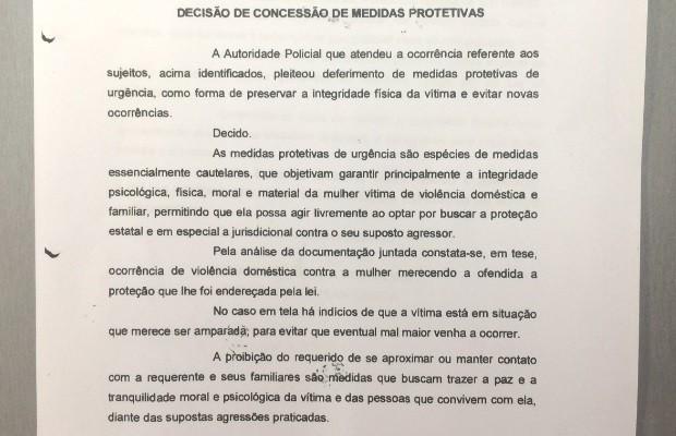 Pai que matou a filha e feriu ex estava proibido de se aproximar da família em Goiás (Foto: Reprodução)
