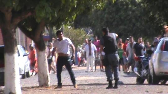 Vídeo mostra tentativa frustrada de assalto a agência dos Correios no MA