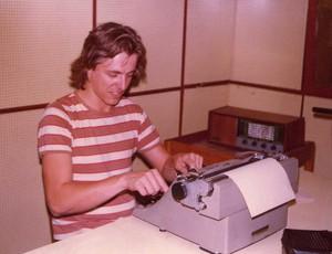 Milton Leite em seu início de carreira (Foto: Arquivo Pessoal)