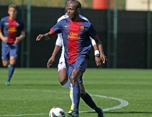 Abidal Barcelona B (Foto: Reprodução / Site Oficial)