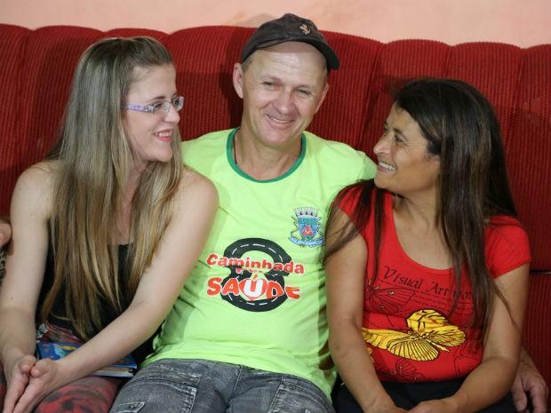 Beatriz já conheceu a família de Francisco e foi bem recebida, conta (Foto: Beatriz Natel/ Arquivo pessoal)