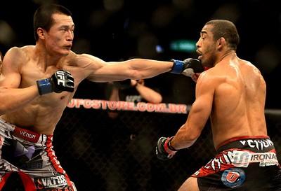 UFC José Aldo x Chan Sung Jung zumbi coreano (Foto: André Durão / Globoesporte.com)