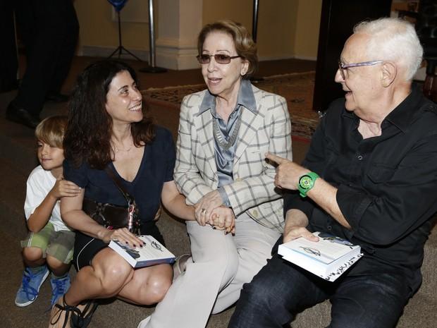Fernanda Torres, Fernanda Montenegro e Ney Latorraca (Foto: Alex Palarea / Felipe Assumpção)