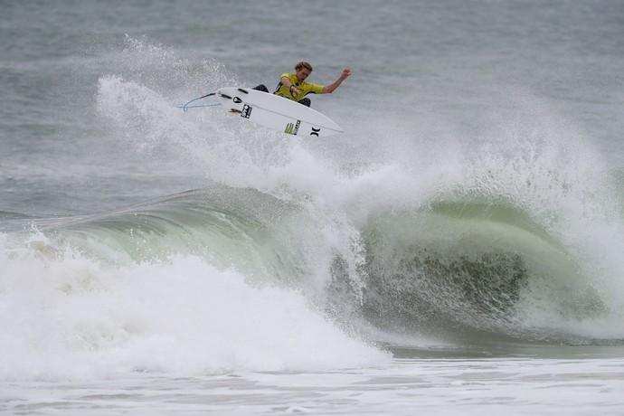 John John Florence dá mais um show na etapa de Peniche do Circuito Mundial de Surfe (Foto: Divulgação)