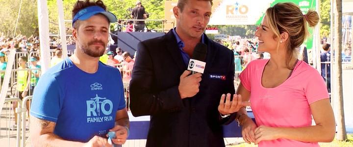 Programa Eu Atleta foi à Maratona do Rio. Assista à íntegra!