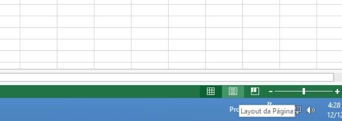 ícone no rodapé do Excel  (Foto: Reprodução/André Sugai)